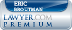 Eric Broutman  Lawyer Badge
