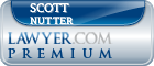 Scott E. Nutter  Lawyer Badge