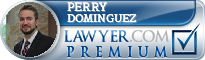 Perry Jon Dominguez  Lawyer Badge