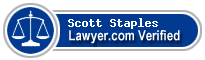 Scott A. Staples  Lawyer Badge