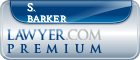 S. Price Barker  Lawyer Badge