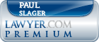Paul A. Slager  Lawyer Badge