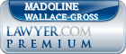 Madoline Wallace-Gross  Lawyer Badge