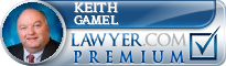 Keith E. Gamel  Lawyer Badge