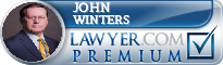 John F. Winters  Lawyer Badge