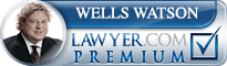 Wells T. Watson  Lawyer Badge