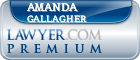 Amanda B. Gallagher  Lawyer Badge