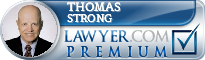 Thomas Strong  Lawyer Badge