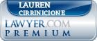 Lauren A. Pisapia Cirrinicione  Lawyer Badge