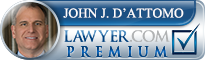 John J. D'Attomo  Lawyer Badge