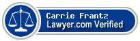 Carrie L. Frantz  Lawyer Badge