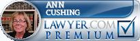 Ann M. Cushing  Lawyer Badge