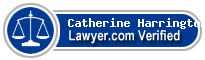 Catherine B. Harrington  Lawyer Badge