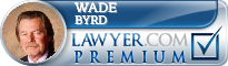 Wade E. Byrd  Lawyer Badge