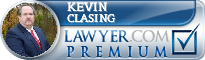 Kevin Albert Clasing  Lawyer Badge