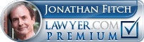 Jonathan W. Fitch  Lawyer Badge