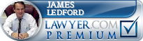James W. Ledford  Lawyer Badge