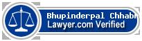 Bhupinderpal Pal Singh Chhabra  Lawyer Badge