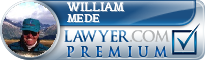 William F. Mede  Lawyer Badge
