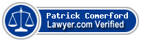 Patrick J Comerford  Lawyer Badge