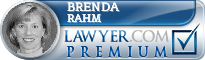 Brenda Rahm  Lawyer Badge