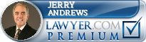 Jerry D. Andrews  Lawyer Badge