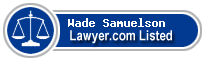 Wade Samuelson Lawyer Badge