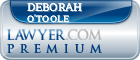 Deborah S. O'Toole  Lawyer Badge