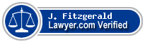 J. Paul Fitzgerald  Lawyer Badge