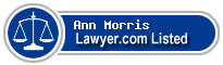 Ann Morris Lawyer Badge