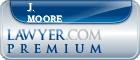 J. Richard Moore  Lawyer Badge