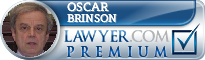 Oscar R. Brinson  Lawyer Badge