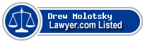 Drew Molotsky Lawyer Badge