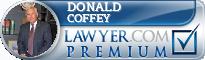 Donald R. Coffey  Lawyer Badge