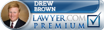 Drew Brown  Lawyer Badge