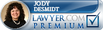 Jody Ollyver DeSmidt  Lawyer Badge