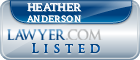 Heather Anderson Lawyer Badge