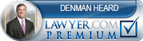 Denman H. Heard  Lawyer Badge