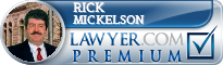 Rick A Mickelson  Lawyer Badge