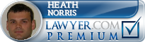Heath Norris  Lawyer Badge