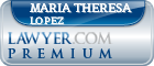 Maria Theresa Balto Lopez  Lawyer Badge