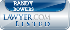 Randy Bowers Lawyer Badge