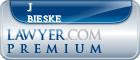 J B Bieske  Lawyer Badge
