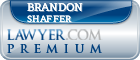 Brandon C. Shaffer  Lawyer Badge
