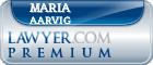 Maria K. Aarvig  Lawyer Badge