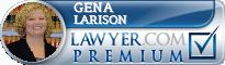 Gena R. Larison  Lawyer Badge