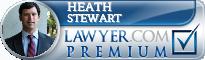Heath McAlvin Stewart  Lawyer Badge
