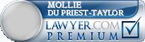 Mollie Du Priest-Taylor  Lawyer Badge