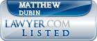 Matthew Dubin Lawyer Badge