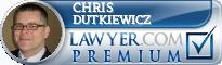Chris J. Dutkiewicz  Lawyer Badge